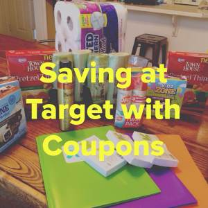 Shopping cheap at target with coupons